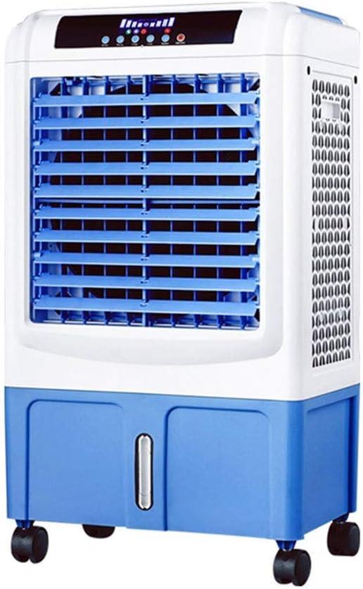 Azul 50x35x89cm Ventilador De Aire Acondicionado Refrigerador Evaporativo De Grado Comercial Ventilador del Enfriador De Aire Almac/éN Industrial Taller De F/áBrica 120 W Blanco
