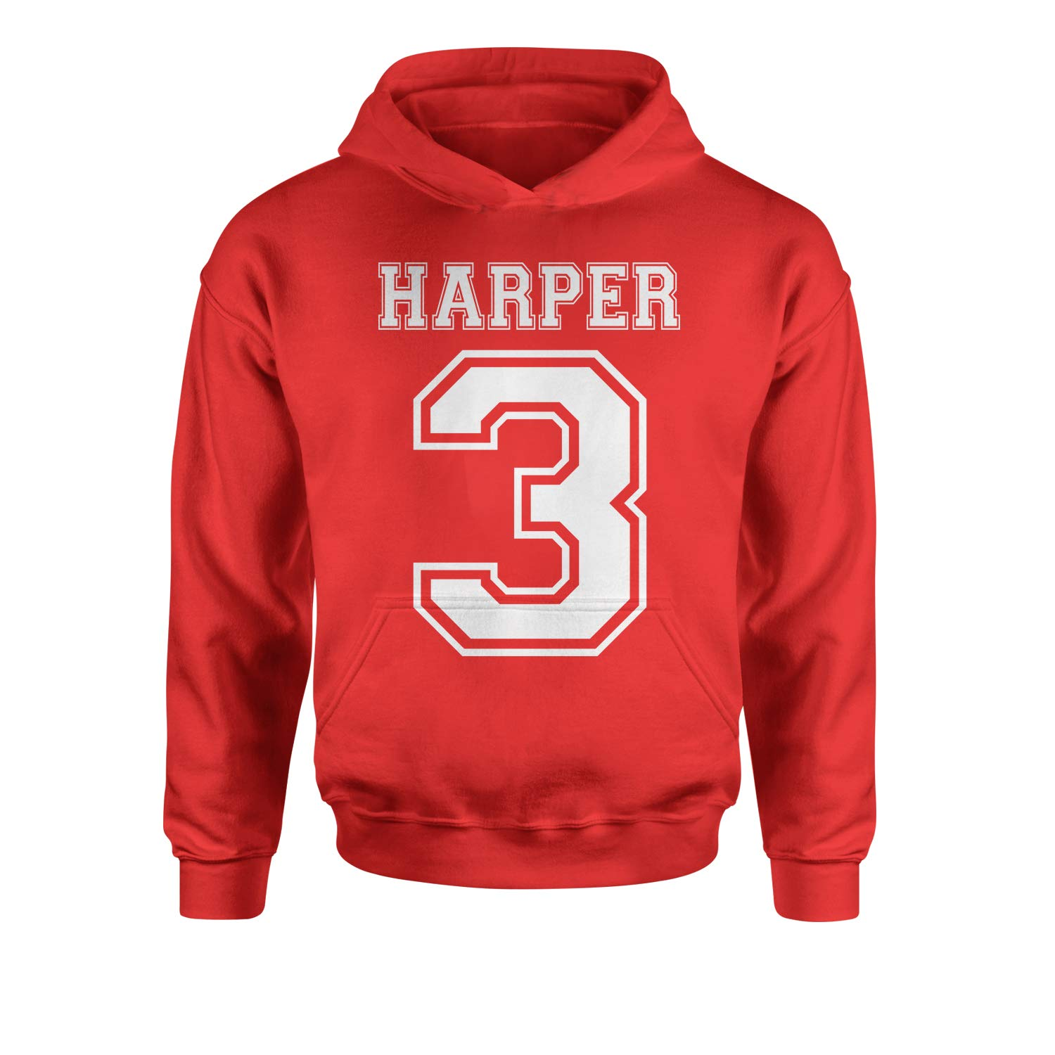 Expression Tees Harper 3 Baseball Youth-Sized Hoodie