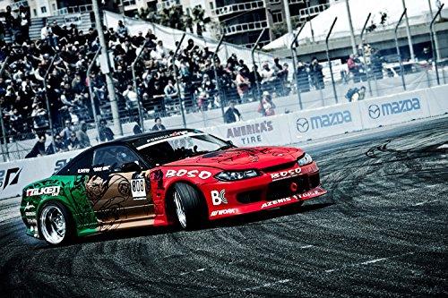 Nissan Silvia S15 Drift Sport Car Poster 20x30 ()