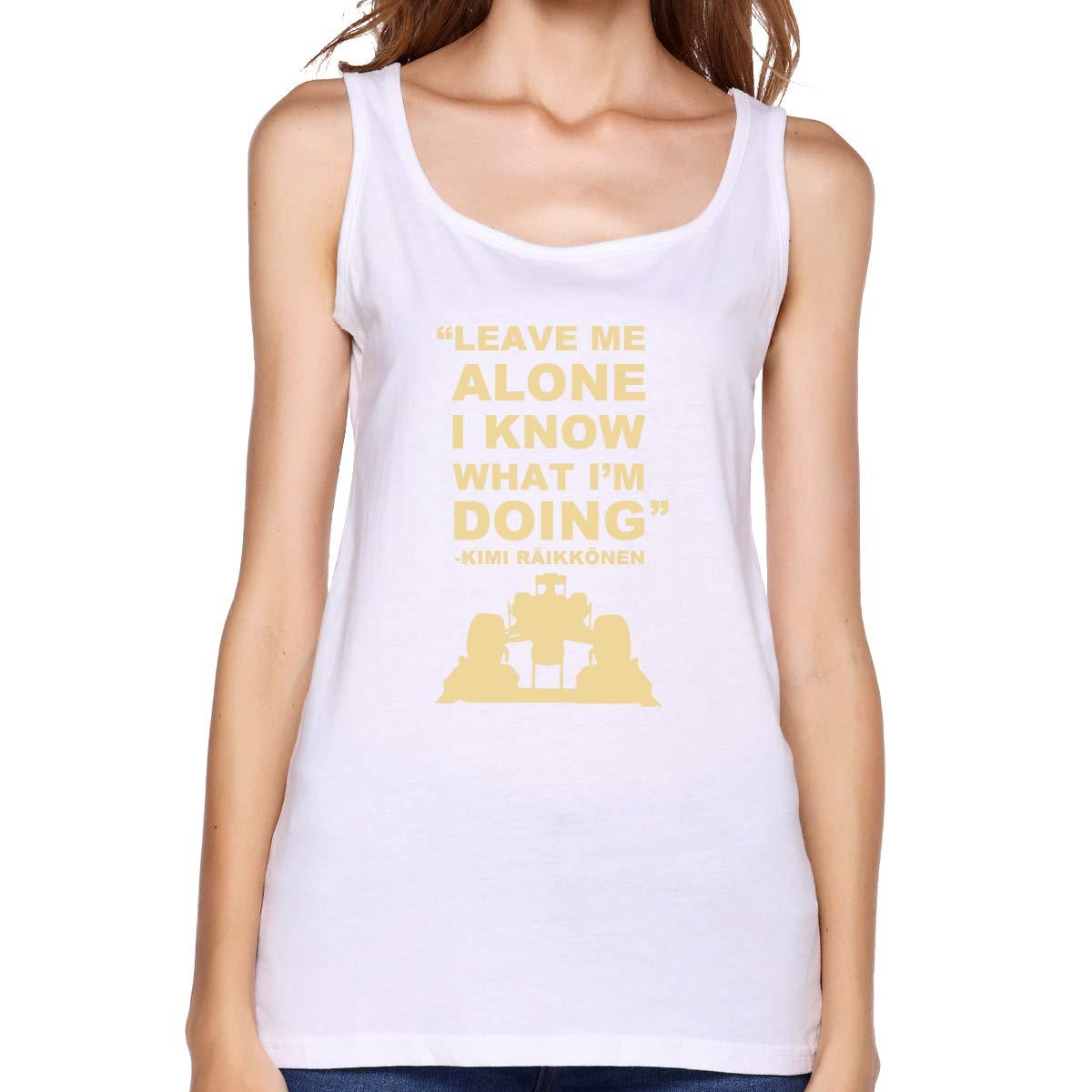 Kabashiji Kimi Rkonen Leave Me Alone I Know What I M Doing S Tank Top Sleeveless T Shirt 1