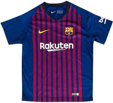 Nike Kinder Conjunto de jersey FCB LK NK BRT HM, azul intenso / obsidiana, XS (96-104 cm / 3-4 años): Amazon.es: Ropa y accesorios
