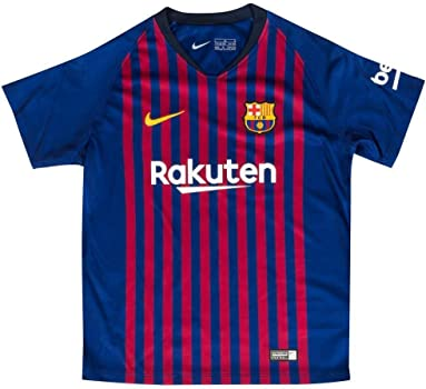 Nike 2018/19 FC Barcelona Stadium Home Equipación de fútbol, Unisex niños