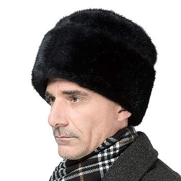 en pies imágenes de buena calidad super servicio OLDF Ushanka Sombrero Ruso Sombrero de Nieve de visón Falso ...