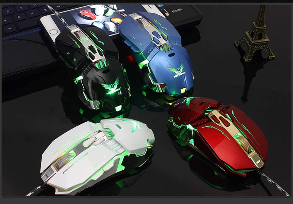 BAIYI Macro Definition Wired Gaming Mouse Competitive Esports USB Mouse Computer High Performance Mouse High End Mouse