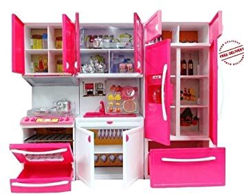 Buy Aastha Enterprise Barbie Kitchen Set For Kids Girls Toys With