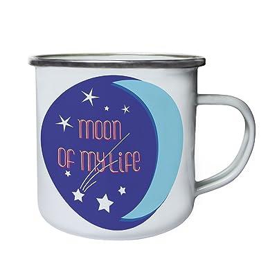 lune de ma vie Rétro, étain, émail tasse 10oz/280ml cc338e