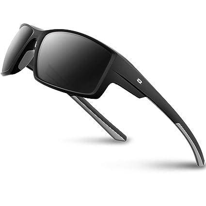 RIVBOS Gafas de Sol polarizadas para Deportes, para Conducir ...