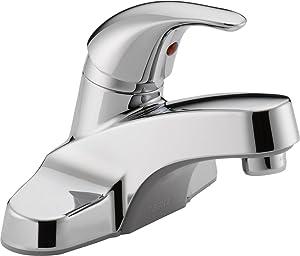 Peerless Single-Handle Centerset Bathroom Faucet, Chrome P131LF