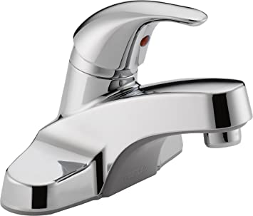 Peerless P131LF Classic Single Handle Bathroom Faucet, Chrome