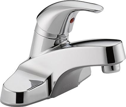 Peerless P131LF Classic Single Handle Lavatory Faucet, Chrome ...
