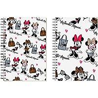 Minnie Mouse- Fashion Bloc de Notas, Color Blanco (Karactermanía 35078)