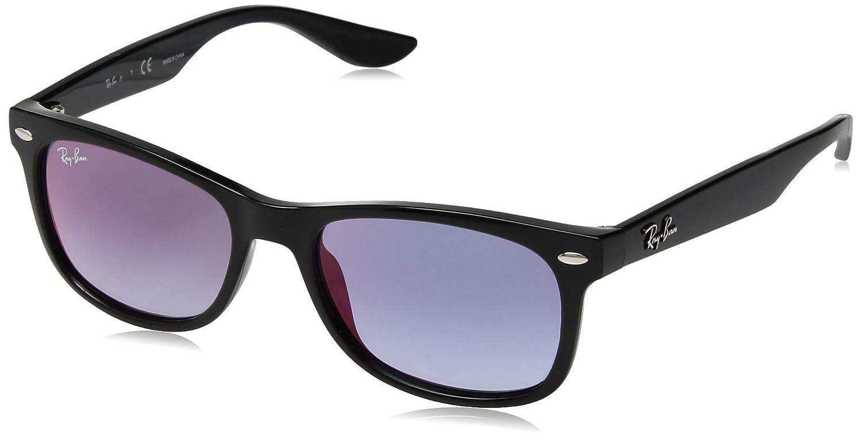 52fbdfce6 Óculos de Sol Ray Ban Junior Wayfarer Rj9052s 100/x0/48 Preto:  Amazon.com.br: Amazon Moda