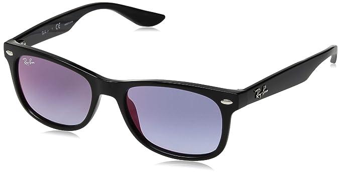16cd98e04 Ray-Ban Junior RJ9052S 100/X0 Black RJ9052S Wayfarer Sunglasses Lens  Category 2: Amazon.co.uk: Clothing