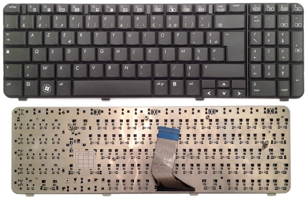 Patines/teclado francés FR para ordenador PC portátil HP COMPAQ Presario Cq61 9j.n0y82.60 F, Neuf garanti 1 an, note-x/DNX: Amazon.es: Informática