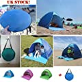 Aobiny Tent, Fully Automatic Set-up Camping Beach Shade Tent Speed Open Outdoor UV Protection