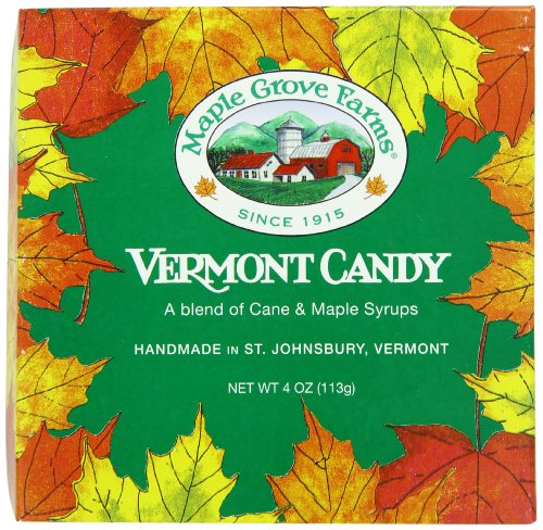 Maple Grove Farms Blended Maple Candy, Fancies & Leaf Shapes, 4 Ounce (Best Tasting Pancake Syrup)