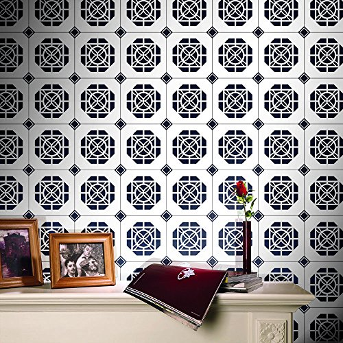 (perfectCOCO Self Adhesive Tile Art Wall Decal Sticker DIY Wall Art Decor Stair Decals Stair Stickers)