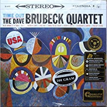 """JAZZ Dave Brubeck """" Time Out """" REMASTERED 200 Gram Vinyl LP 33 1/3 RPM w/ Stickers as Shown"""