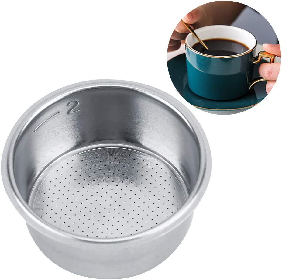 El filtro de café del acero inoxidable reutilizable vierte sobre el colador no presurizado de la cesta del filtro del goteador del café para Breville