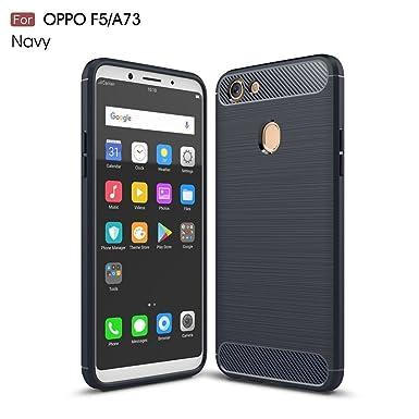 Oppo A73 Case, Maler ® Carbon Fiber Hybrid Heavy Duty Tough Strong