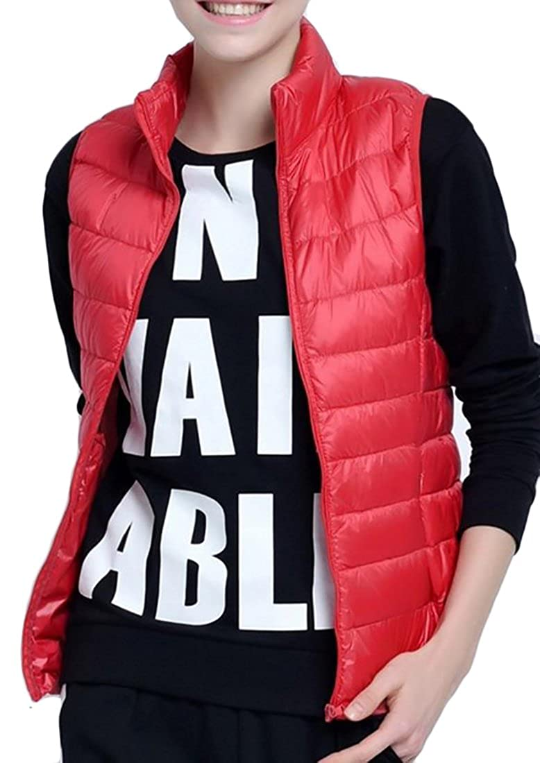 Pivaconis Women's Casual Lightweight Down Packable Outdoor Puffer Vest