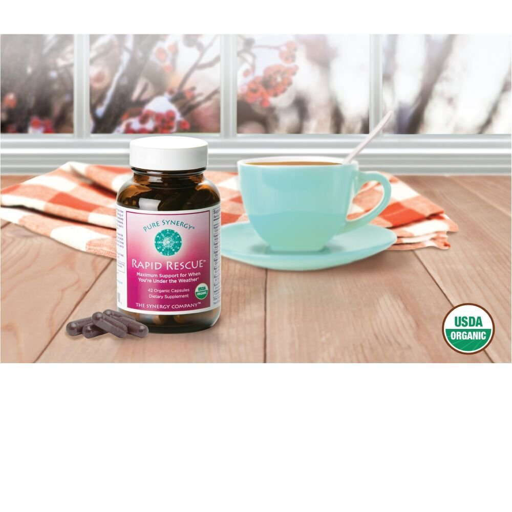 Pure Synergy Rapid Rescue (42 Capsules) w/Organic Echinacea & Elderberry Extracts by Pure Synergy (Image #7)