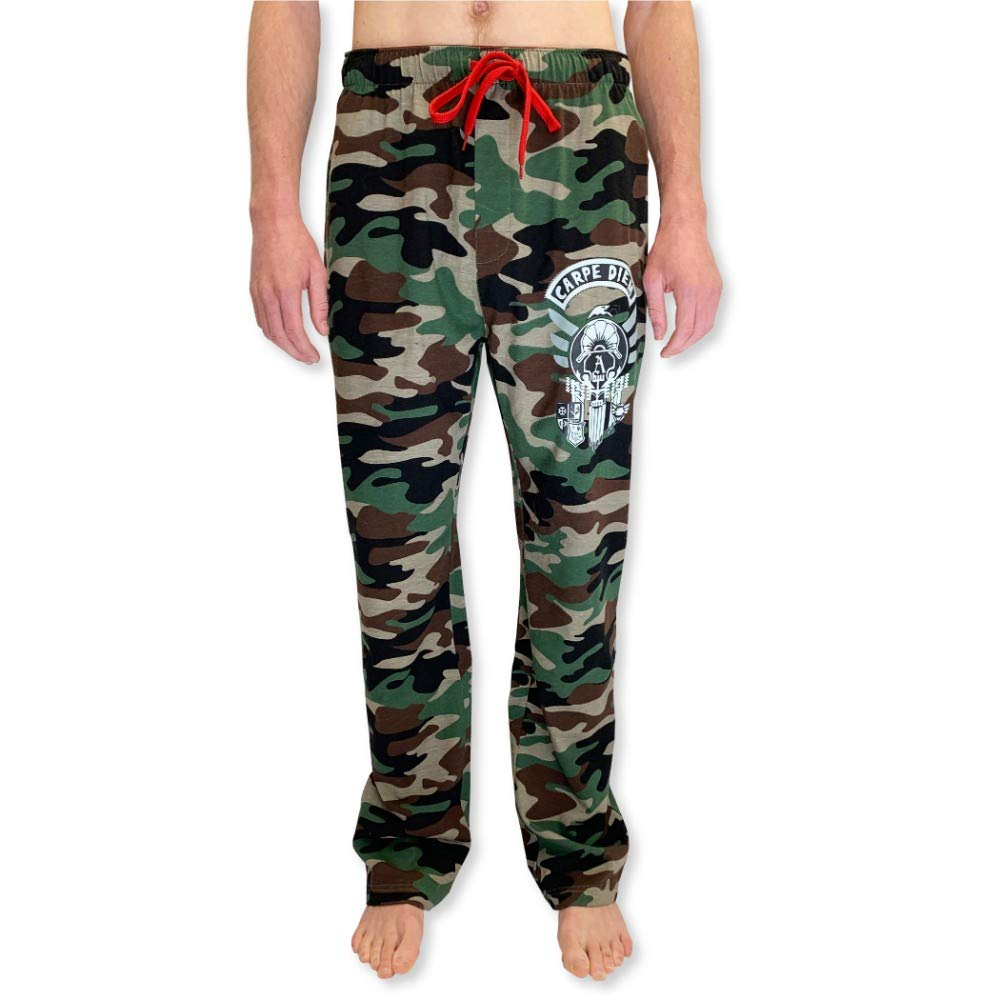 7d4ff25142c4b9 Amazon.com: Men's Supreme Printed Classic Cotton Knit Jogger Comfortable  Hangout Lounge Pants for Men: Clothing