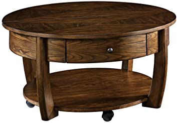 Great Hammary Concierge Round Cocktail Table In Brown