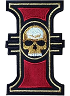 Warhammer 40k Space Wolves Logo Iron On Patch 35x325 Inspireme