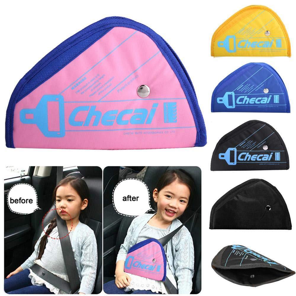 Seat Belt Cover, Car Seatbelt Adjuster for Kids, Comfort Universal Auto Shoulder Neck Strap Positioner Cover, for Children Kids