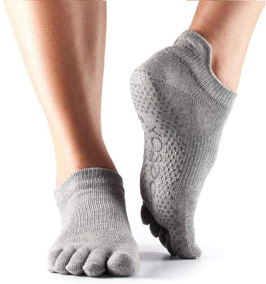 Confezione da 2 Toesox Ft Low Rise Calzini da Yoga Unisex Adulto