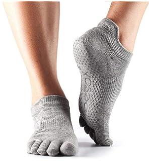 49ea15051 ToeSox Women's Low Rise Full Toe Grip Non-Slip for Ballet, Yoga, Pilates