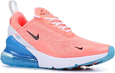 Amazon Com Nike Women S Air Max 270 Shoes 6 Pink White Blue
