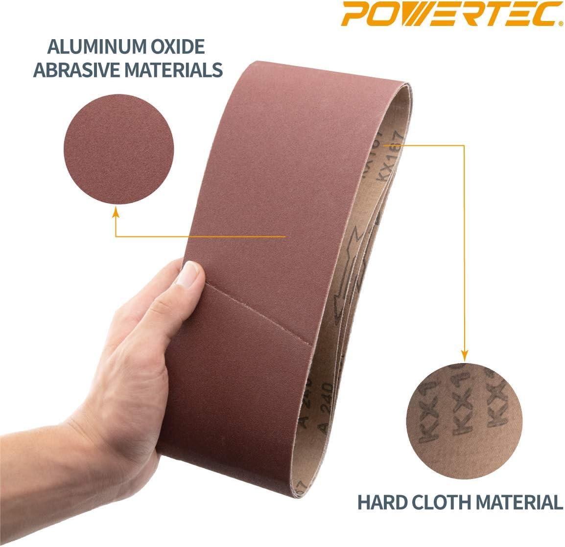 2-1//2 Width Fine Grade VSM 118824 Abrasive Belt Black 60 Length 180 Grit Pack of 10 Silicon Carbide Cloth Backing