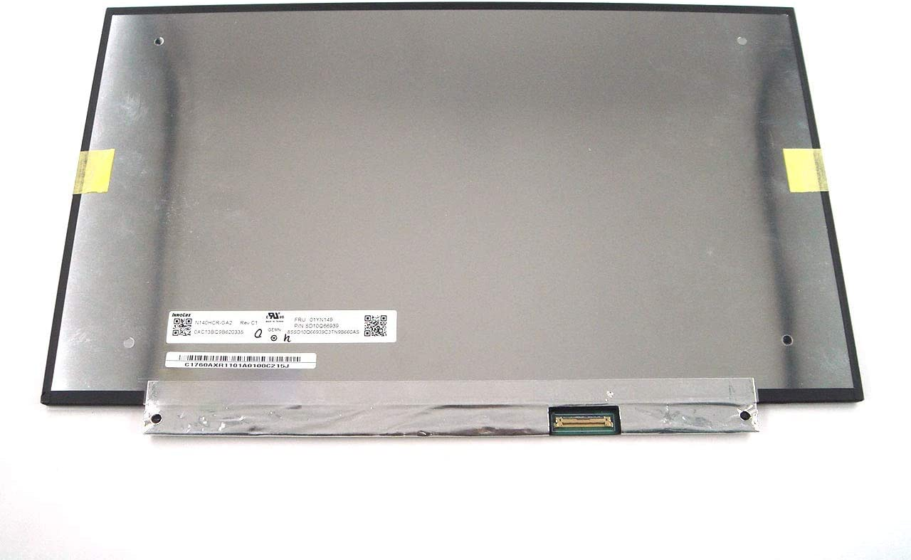 Genuine Parts for Lenovo ThinkPad X1 Carbon 7th Gen 14.0 inch FHD(1920x1080) LCD Screen for ePrivacy Non-Touch (not for Touch) 01YN149