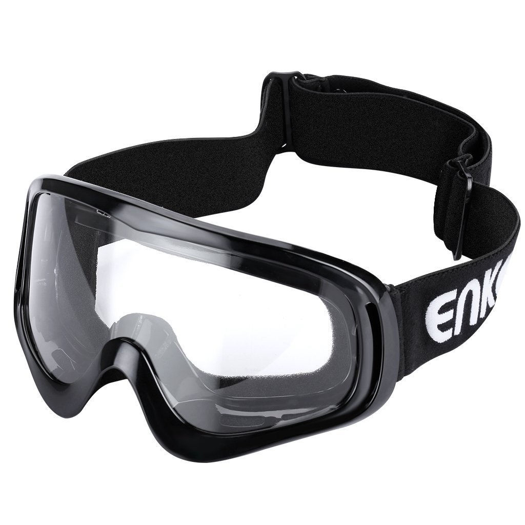 fd31d617e2 ENKEEO Motorcycle Goggles ATV Dirt Bike Off Road Racing MX Goggle  Anti-Scratch Dust Proof