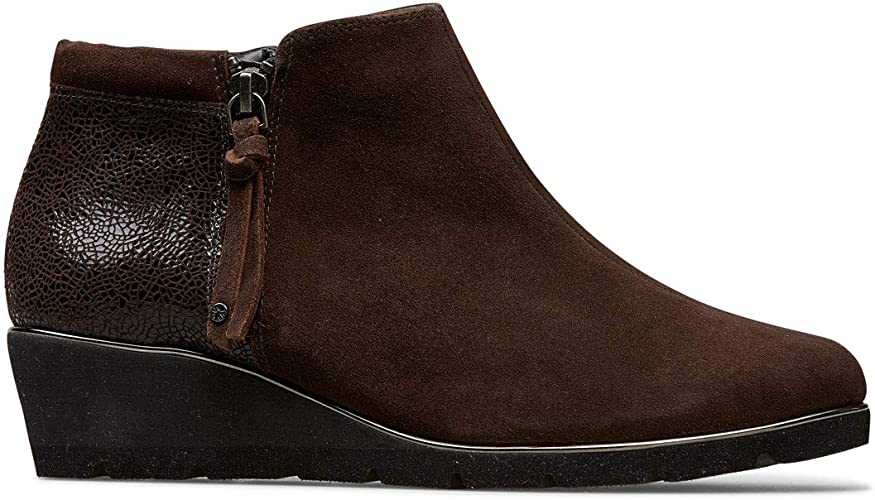 Van Dal Cass Wide E Fit Wedge Ankle