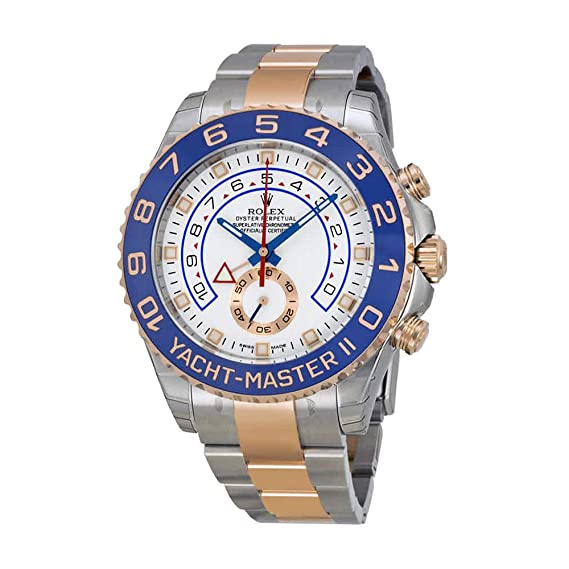 Rolex Yacht-Master II Acero y 18 kt Rose Oro Mens Reloj 116681 WASO: Amazon.es: Relojes