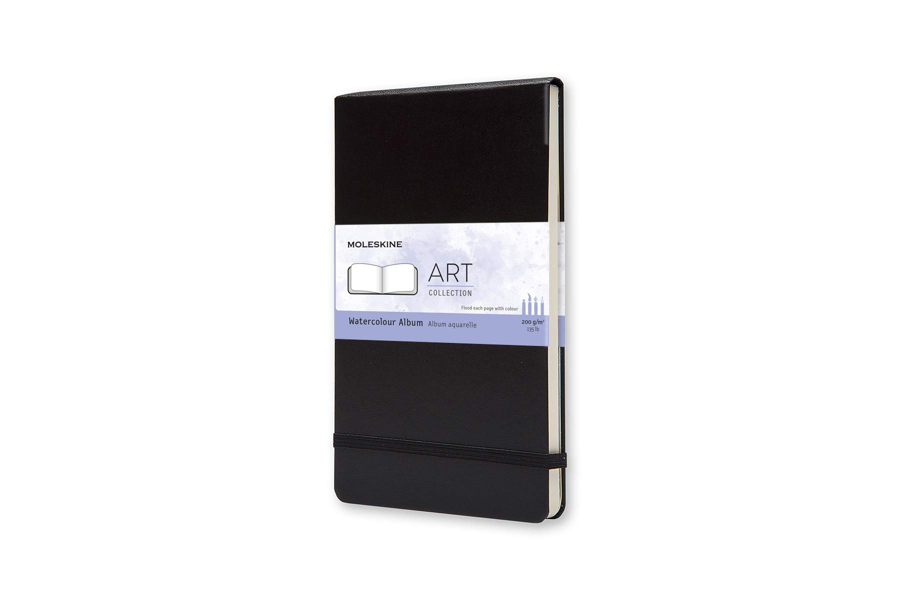 Moleskine Art Plus Hard Cover Watercolor Album, Plain, Large