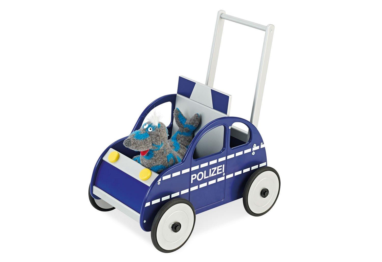 Holz Lauflernwagen Polizei - Pinolino Lauflernwagen Polizei Rene