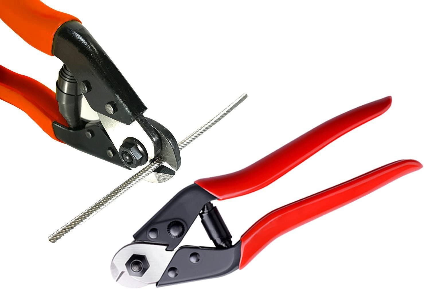 Stainless Steel Wire Rope Aircraft Bicycle Cable Cutter,Up to 5//32