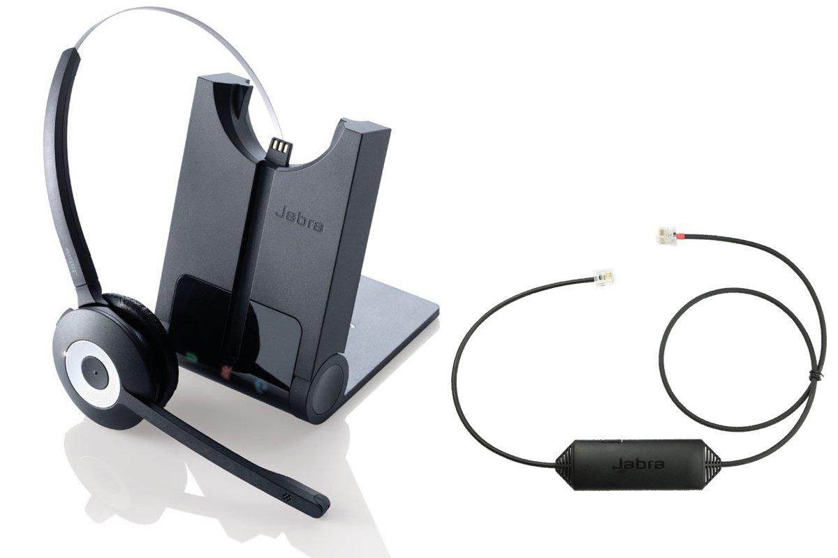 Cisco - Auriculares inalámbricos compatibles con JabCisco Jabra 920, con Adaptador EHS incluidos, teléfonos IP Cisco: 6945, 7821, 7861, 7942, 7945, 7962, ...