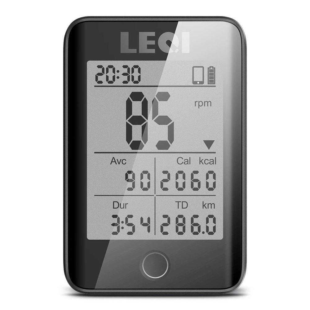 Lixada 2.2'' Large Screen Bicycle Computer Wireless Cycling Bicycle Computer Rainproof Speedometer Odometer