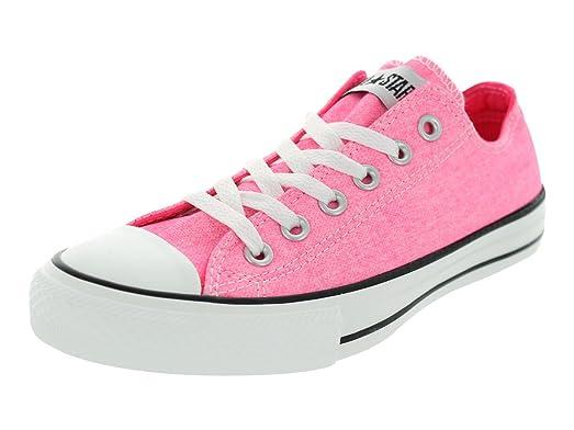 94a103b9ecb7 ... switzerland converse womens chuck taylor ox neon neon pink casual shoes  3 men us 5 women