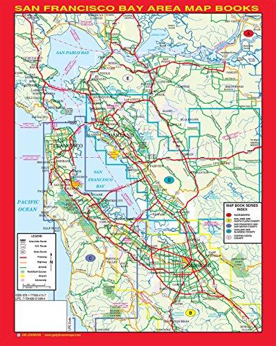 San mateo county map