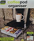 Smart Works New Stackable Coffee Pod & Capsule Drawer/Organiser With Glass Top