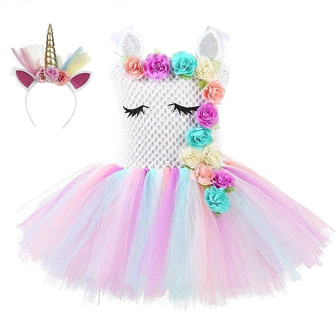 Amazon.com: Lora Rossie - Falda de unicornio para fiesta de ...