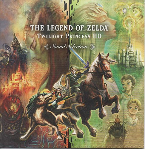 The Legend of Zelda Twilight Princess HD Sound Selection Soundtrack Music CD