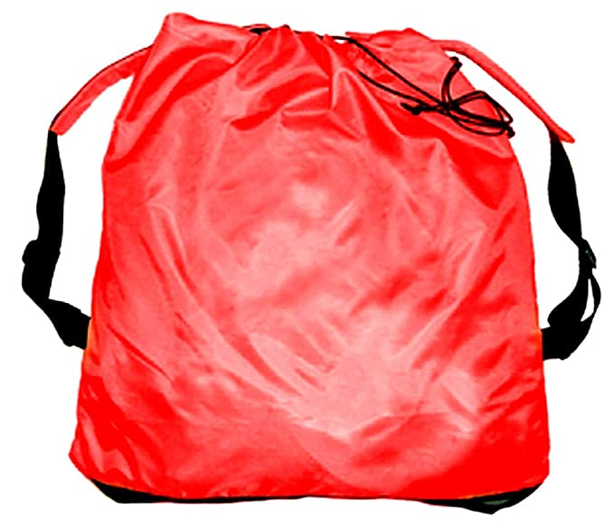 """ba2366b27aab Packable Large Drawstring Cinch Bag Backpack Tote Sack with Mesh Bottom….  23"""" X 25"""" X 5""""."""