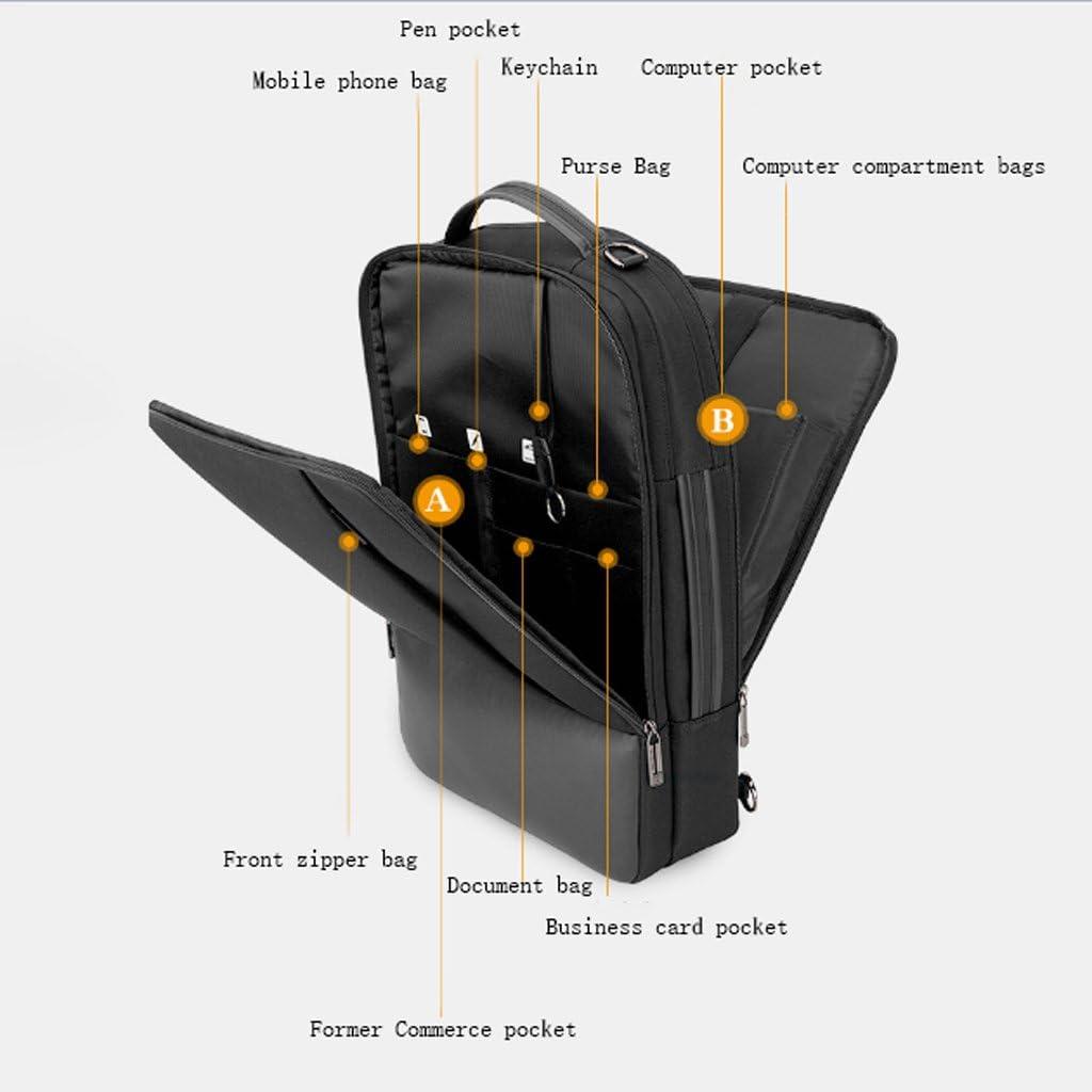 SXZHSM Sac À Bandoulière Multi-usages Simples Loisirs Ordinateur Portable Sac À Bandoulière for Hommes Mallette (Color : Gray) Gray